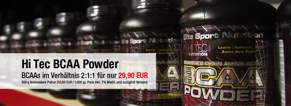 zum Produkt: Hi Tech BCAA Powder